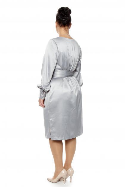 Артикул 12133 - платье большого размера - вид сзади