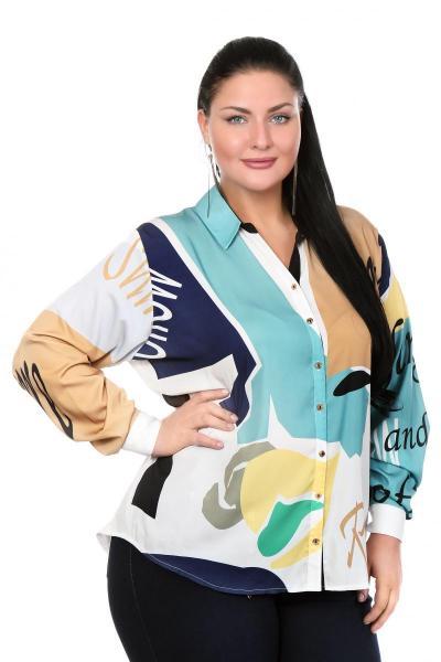 Артикул 103402 - блузка большого размера