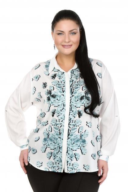 Артикул 103408 - блузка  большого размера