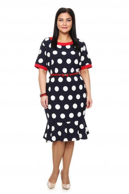 Артикул 202251 - платье большого размера