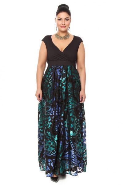 Артикул 15342 - платье  большого размера
