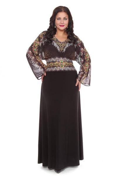 Артикул 109251 - платье  большого размера