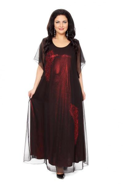 Вечерние платья для полных женщин каталог