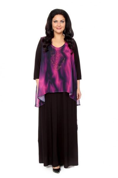 Артикул 16382 - платье  большого размера