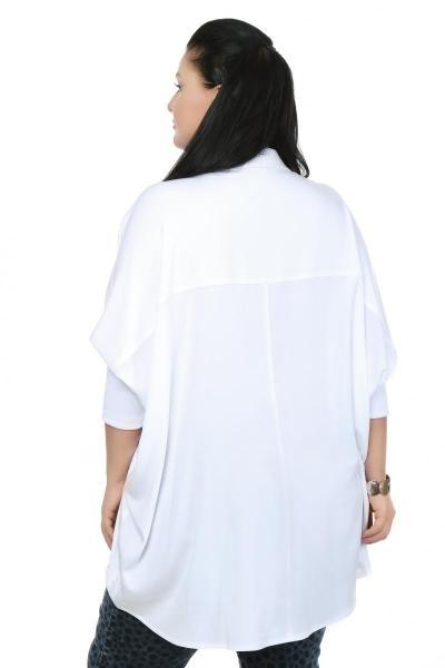 Артикул 15241 - блузка  большого размера - вид сзади