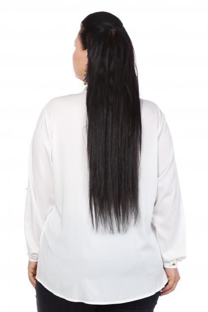 Артикул 103409 - блузка большого размера - вид сзади