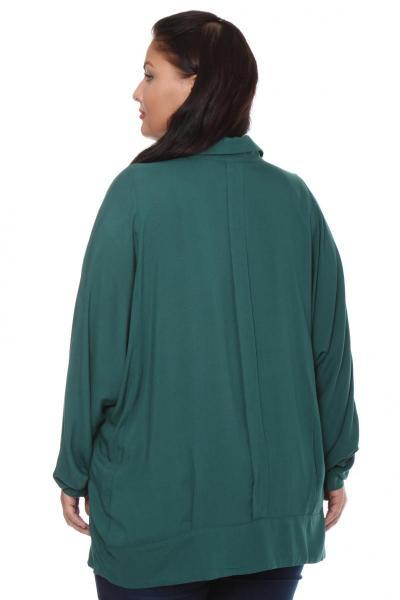 Артикул 101533 - блузка большого размера - вид сзади