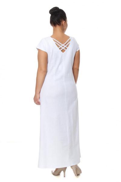 Артикул 16358 - платье большого размера - вид сзади