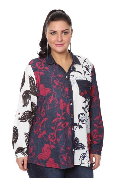 Артикул 204324 - блузка большого размера