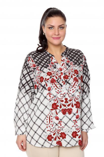 Артикул 204460 - блузка  большого размера