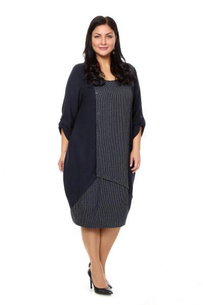 Артикул 203885 - платье большого размера