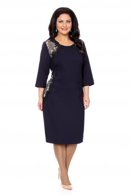 Артикул 209835 - платье  большого размера