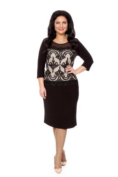 Артикул 215633 - платье  большого размера