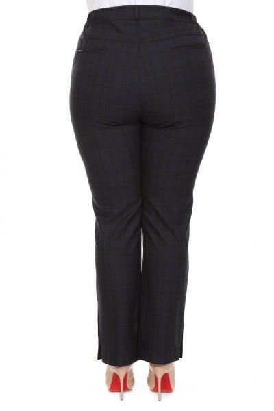 Артикул 609038 - брюки большого размера - вид сзади