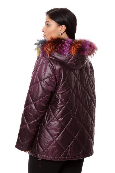 Артикул 202884 - куртка большого размера - вид сзади