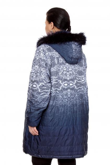 Артикул 270801 - куртка  большого размера - вид сзади
