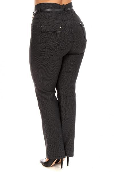 Артикул 201182 - брюки большого размера - вид сзади