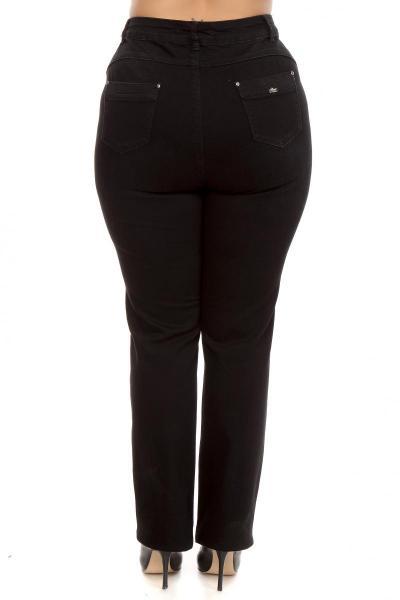 Артикул 209921 - джинсы большого размера - вид сзади