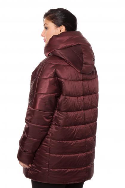 Артикул 012256 - куртка  большого размера - вид сзади
