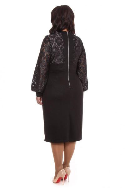Артикул 15339 - платье большого размера - вид сзади