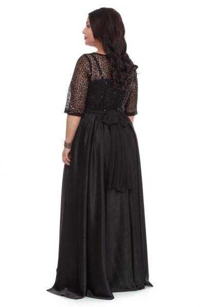 Артикул 16324 - платье  большого размера - вид сзади