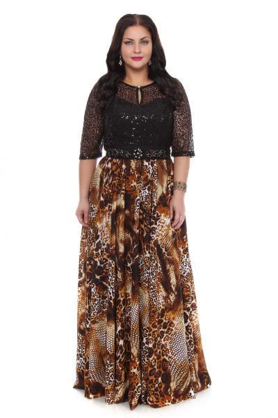 Артикул 16324 - платье  большого размера