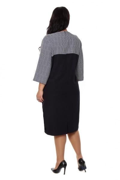 Артикул 203869 - платье большого размера - вид сзади