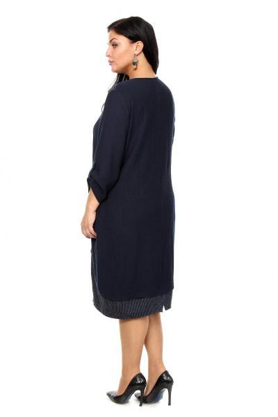 Артикул 203885 - платье большого размера - вид сзади
