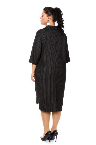 Артикул 205021 - платье большого размера - вид сзади