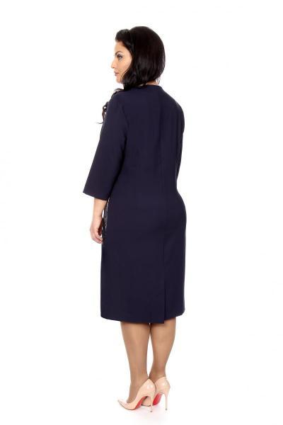 Артикул 209835 - платье  большого размера - вид сзади