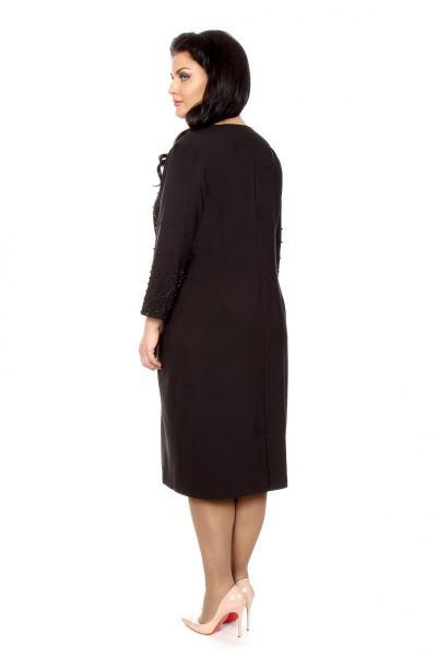 Артикул 209801 - платье  большого размера - вид сзади
