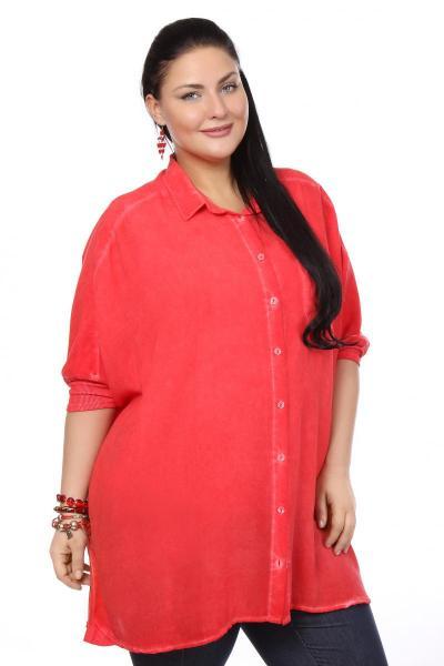 Артикул 102014 - блузка  большого размера