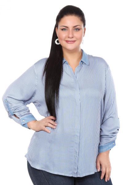 Блузка Голубого Цвета С Доставкой