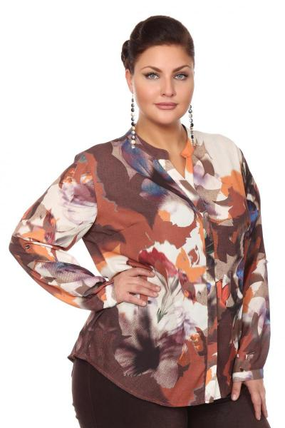 Артикул 108513 - блузка большого размера