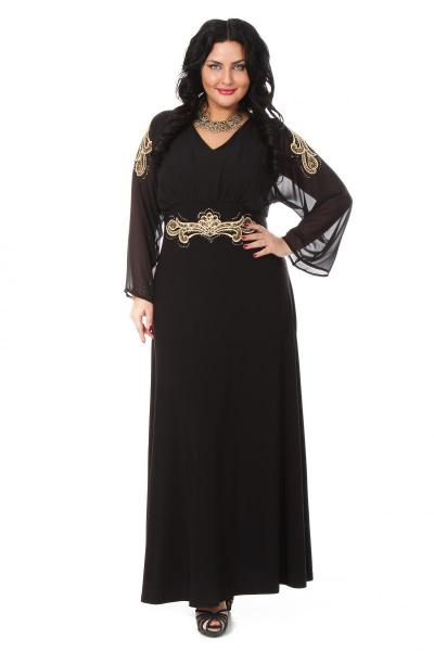 Артикул 007878 (009257) - платье большого размера
