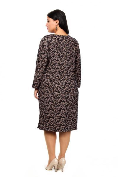 Артикул 205424-1 - платье большого размера - вид сзади