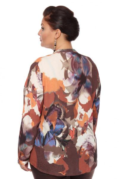 Артикул 108513 - блузка большого размера - вид сзади