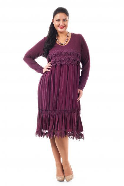 Артикул 005206 - платье большого размера