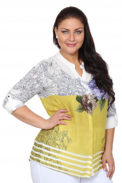Артикул 107559 - блузка большого размера