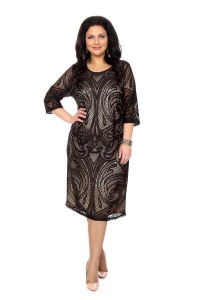 Артикул 202357 - платье  большого размера