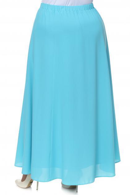 Артикул 15412 - юбка большого размера - вид сзади