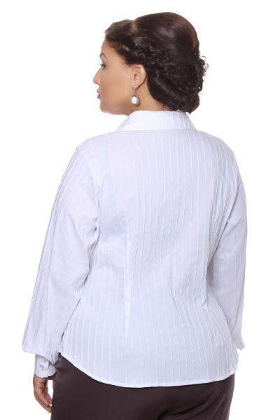 Артикул 16212 - блузка  большого размера - вид сзади