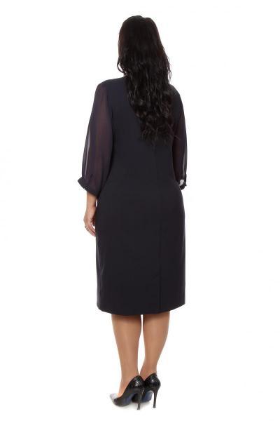 Артикул 209805 - платье большого размера - вид сзади