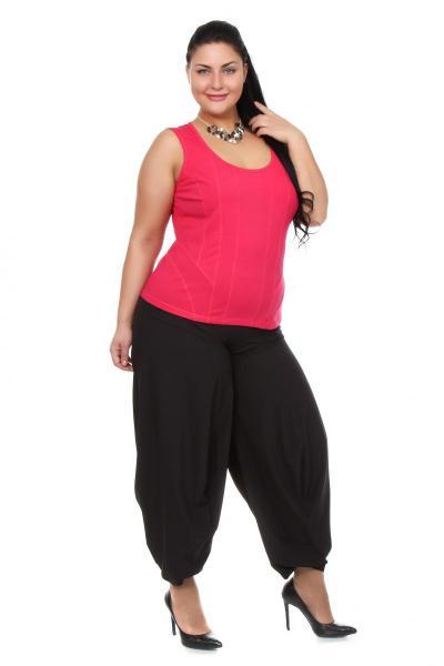 Артикул 101505 - брюки - шаровары большого размера