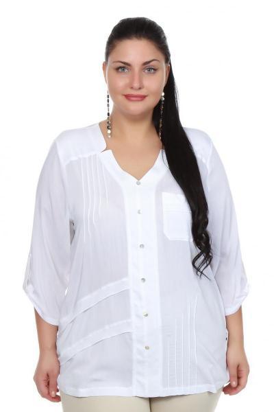 Артикул 106302 - блузка большого размера