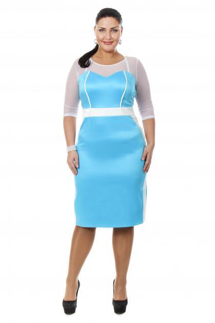 Артикул 15335 - платье большого размера