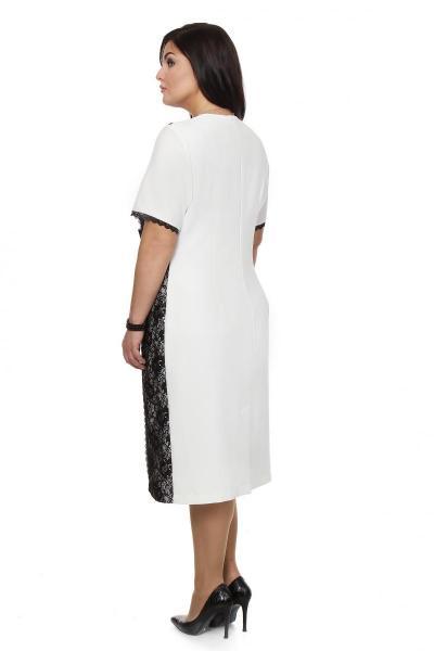 Артикул 16338 - платье большого размера - вид сзади