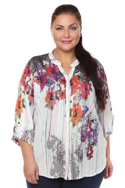 Артикул 108463 - блузка  большого размера