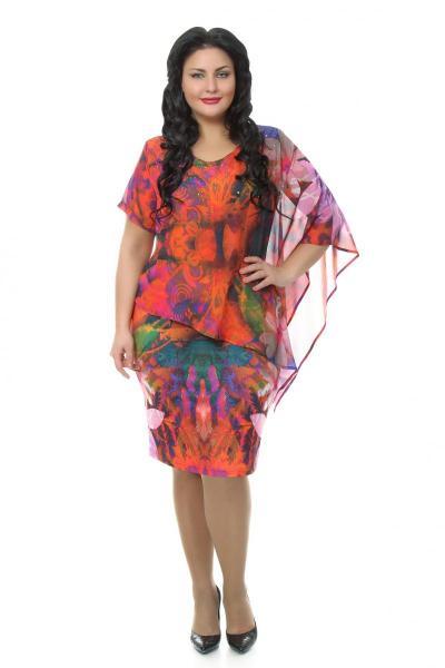 Артикул 108035 - платье большого размера