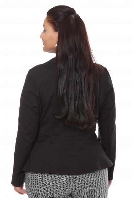 Артикул 15612 - жакет большого размера - вид сзади